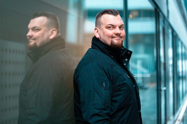 Marco Wieland - Geschäftsinhaber von Wachschutz Berlin