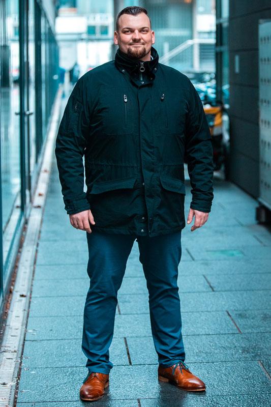 Sicherheitsexperte Marco Wieland